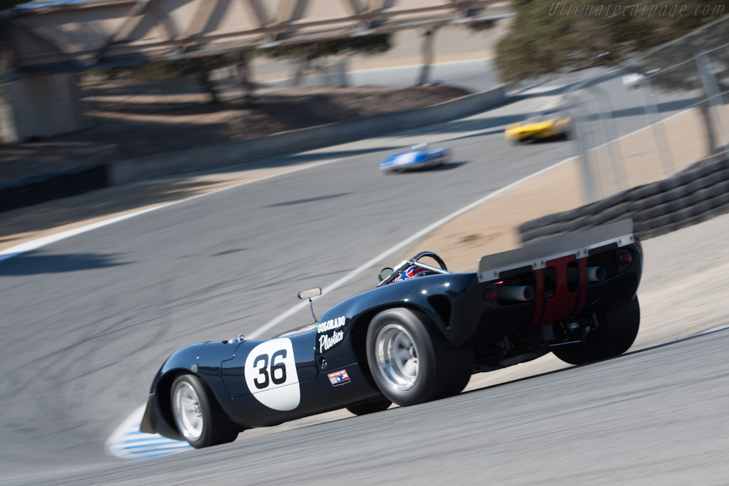Lola T70 Mk II Chevrolet - Chassis: SL71/36   - 2012 Monterey Motorsports Reunion