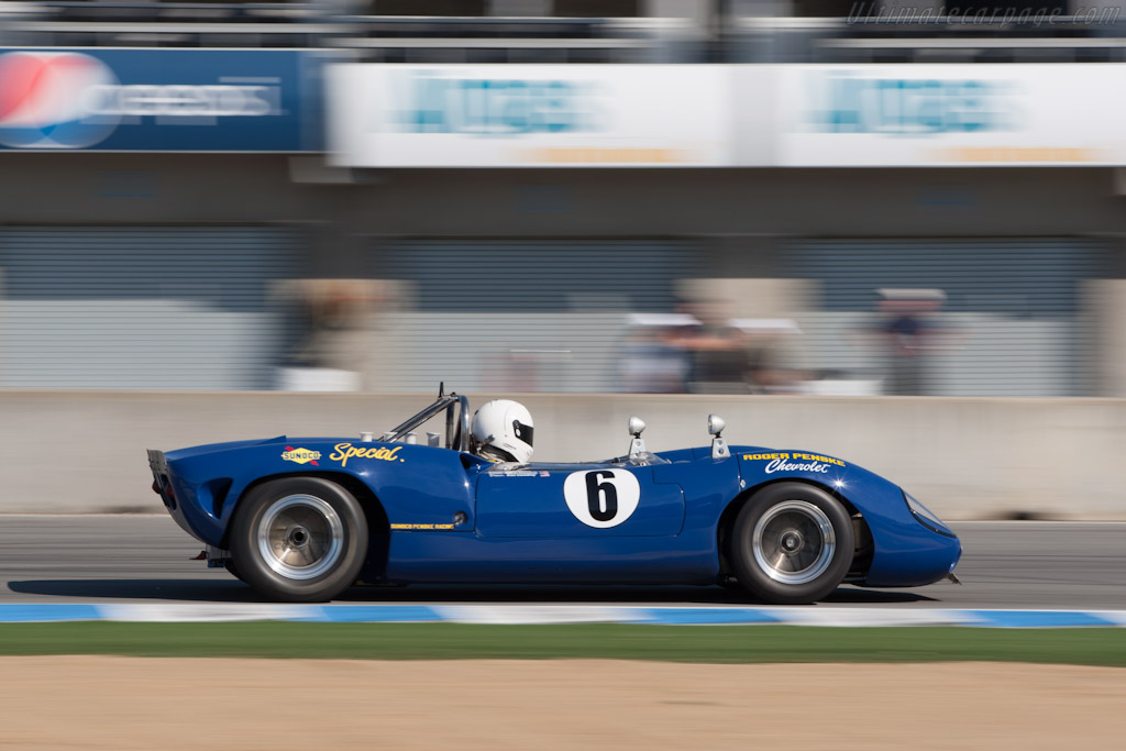 Lola T70 Mk II Chevrolet - Chassis: SL71/21   - 2012 Monterey Motorsports Reunion