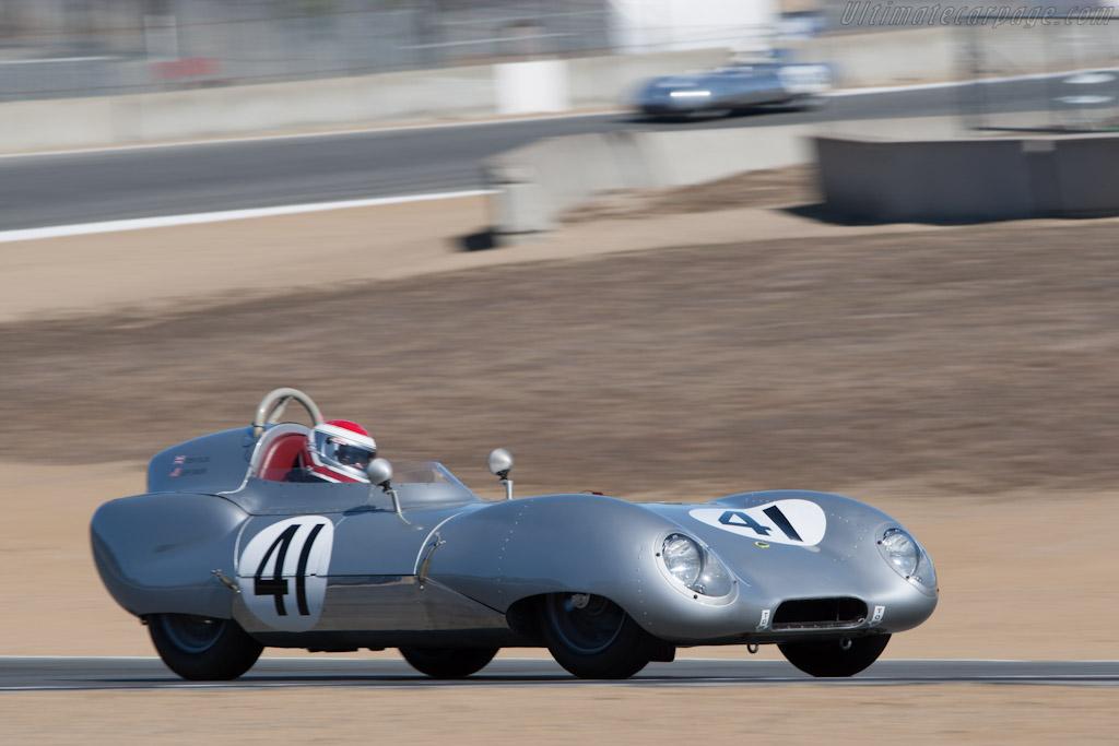 Lotus 11    - 2012 Monterey Motorsports Reunion