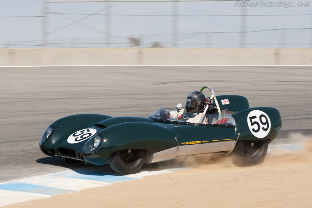 Lotus 15 - Chassis: 602/1 - Driver: Don Orosco  - 2012 Monterey Motorsports Reunion