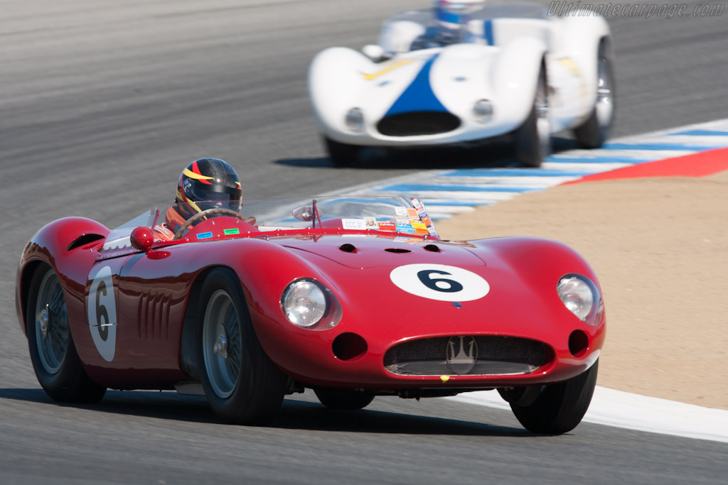 Maserati 300 S - Chassis: 3072   - 2012 Monterey Motorsports Reunion
