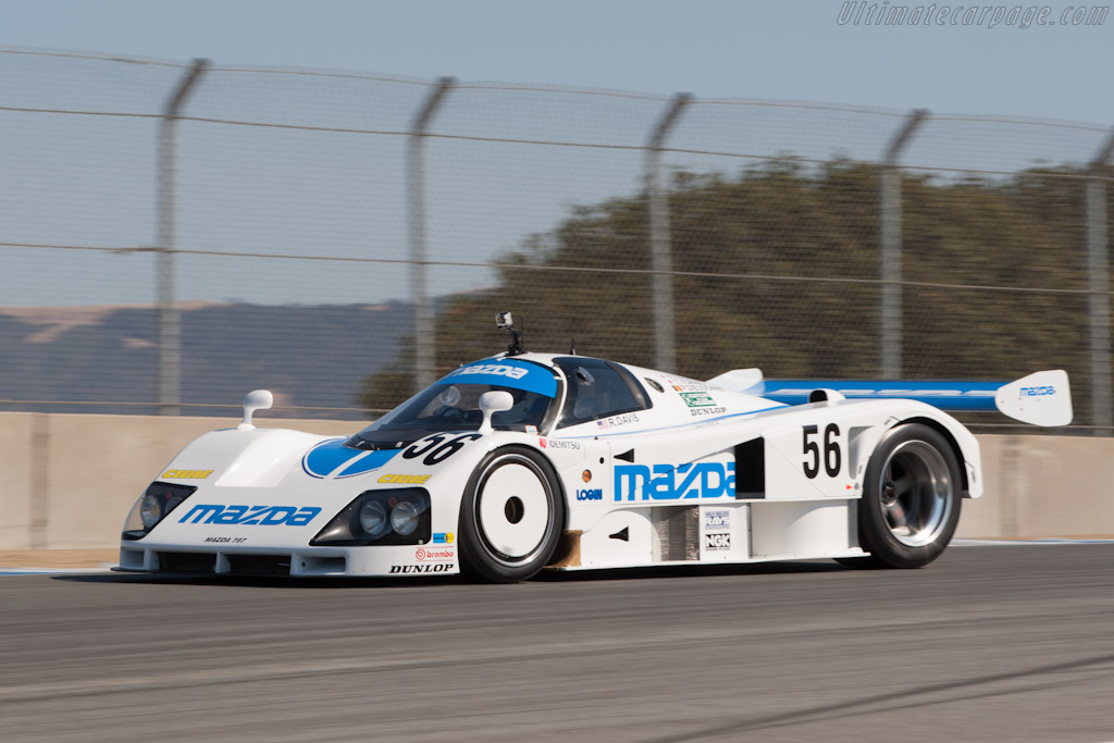 Mazda 787 - Chassis: 787 - 002   - 2012 Monterey Motorsports Reunion