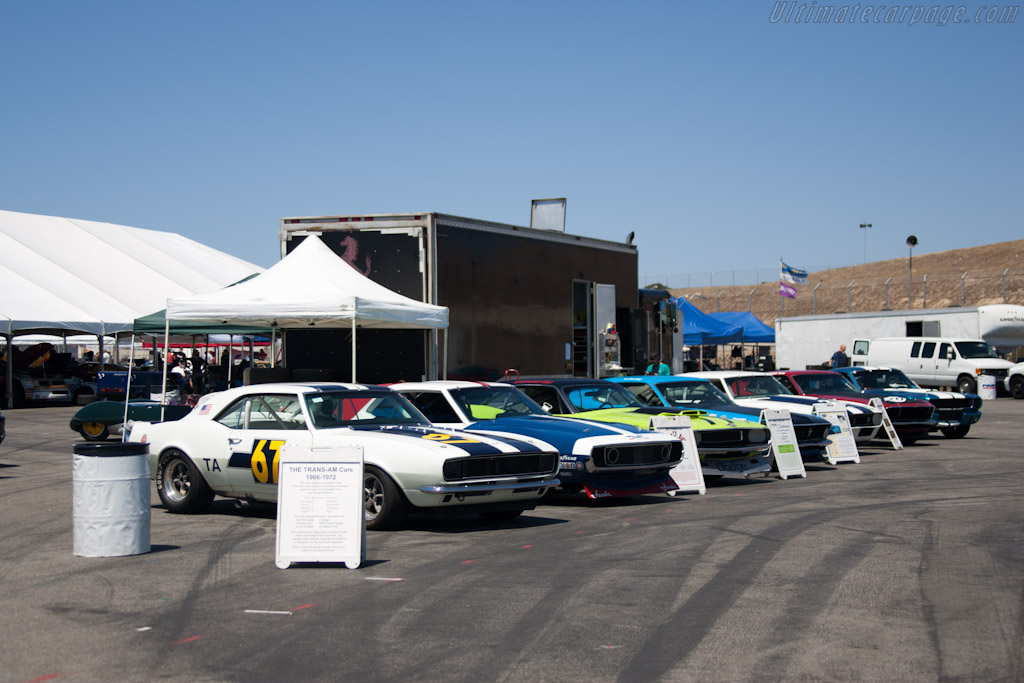 Trans-Am cars    - 2012 Monterey Motorsports Reunion