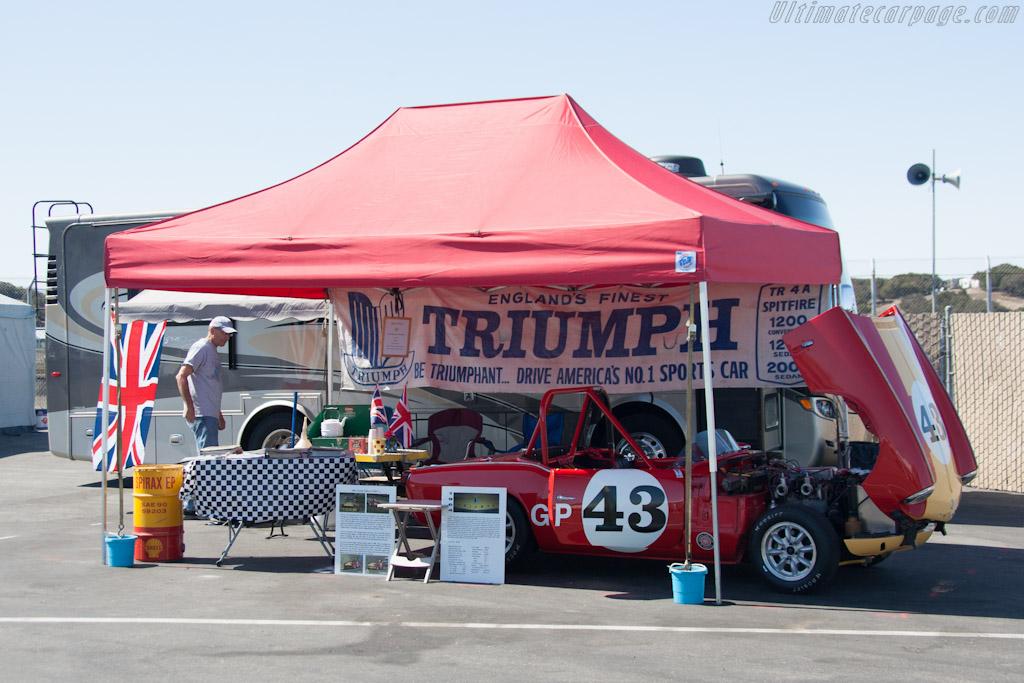 Triumph Spitfire    - 2012 Monterey Motorsports Reunion