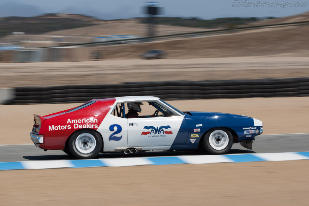 AMC Javelin - Chassis: TA-026 - Driver: Ken Epsman  - 2013 Monterey Motorsports Reunion