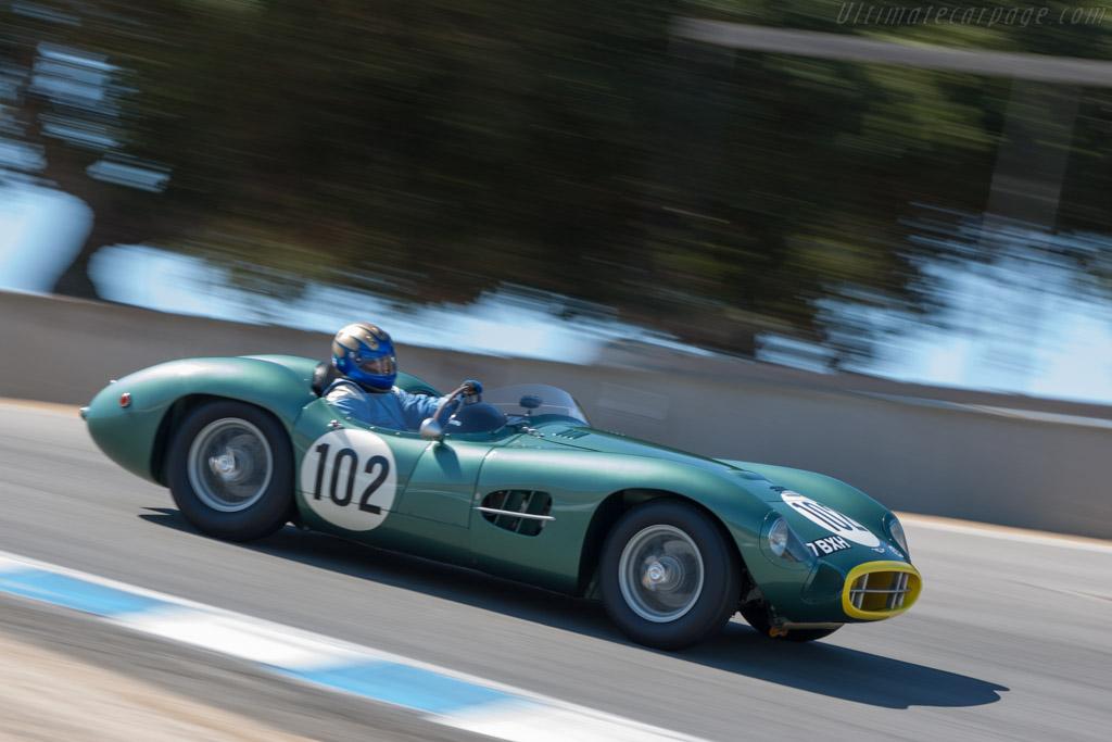 Aston Martin DBR2 - Chassis: DBR2/2 - Driver: Greg Whitten  - 2013 Monterey Motorsports Reunion