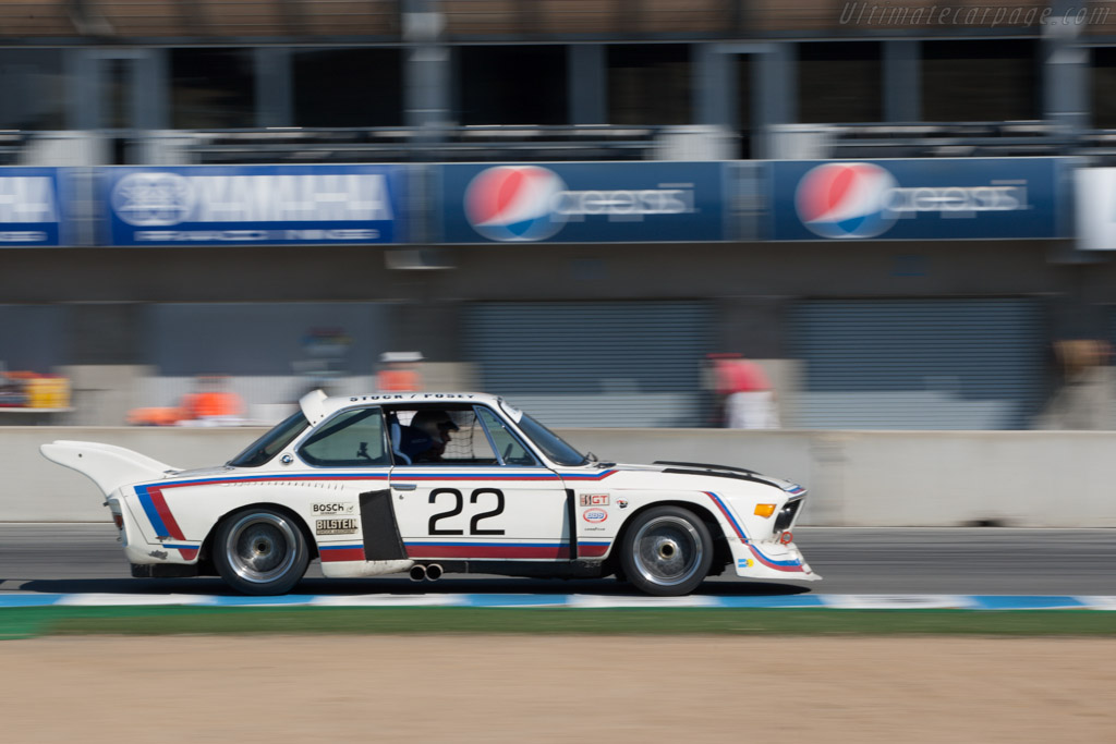 BMW 3.0 CSL - Chassis: 2275988 - Driver: Andrew Cannon  - 2013 Monterey Motorsports Reunion