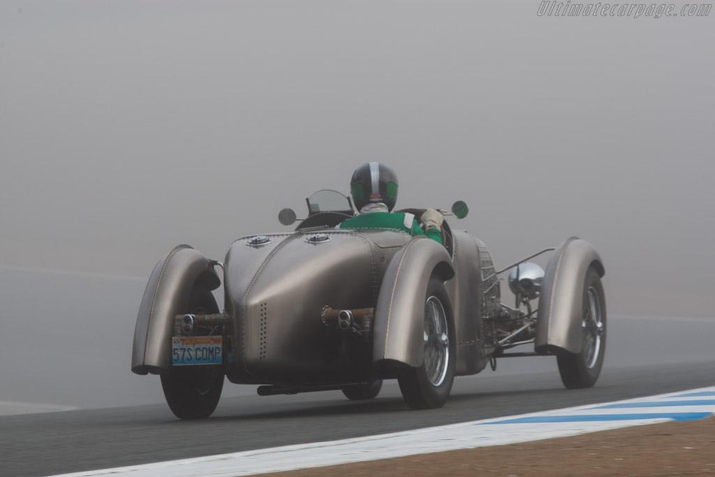 Bugatti Type 57S Competition Torpedo - Chassis: 57222a - Driver: Jim Hull  - 2013 Monterey Motorsports Reunion