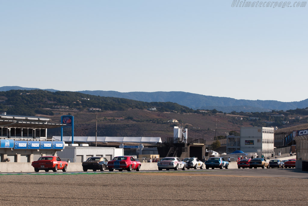 Chevrolet Camaro    - 2013 Monterey Motorsports Reunion