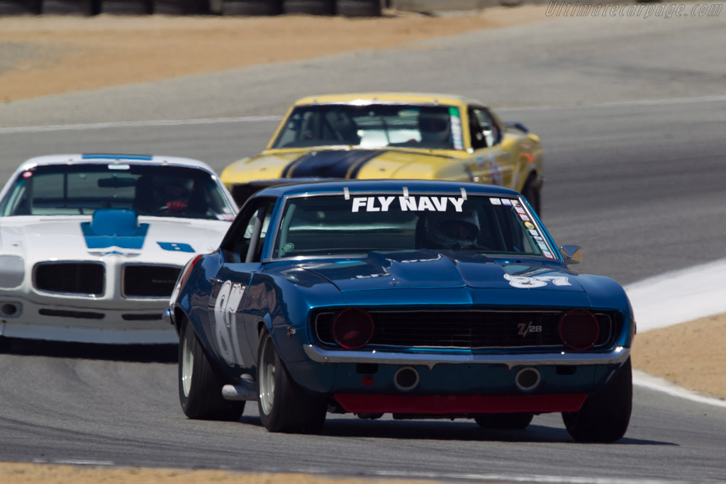 Chevrolet Camaro  - Driver: Alexander Motola  - 2013 Monterey Motorsports Reunion