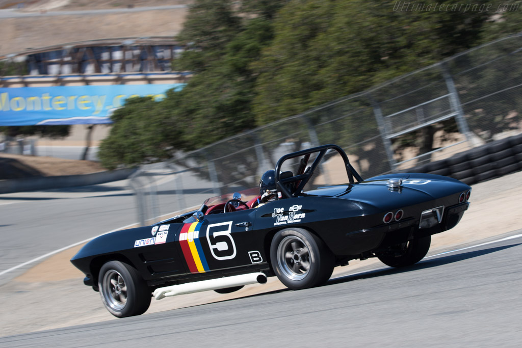 Chevrolet Corvette  - Driver: Jeffrey Abramson  - 2013 Monterey Motorsports Reunion