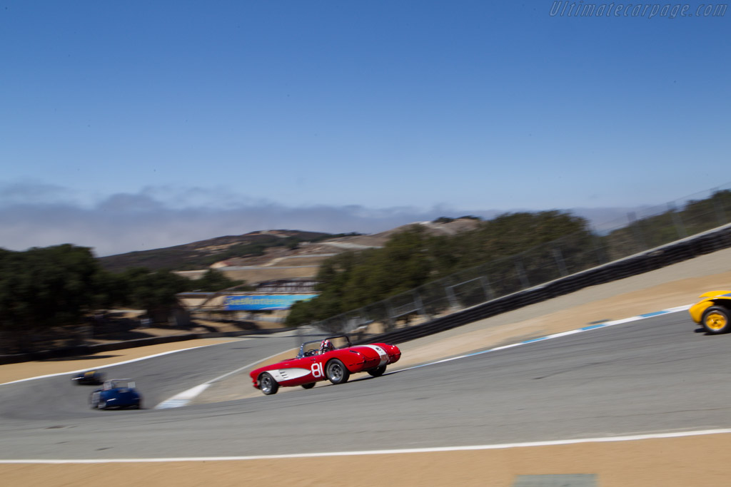 Chevrolet Corvette - Chassis: 00867S104827 - Driver: Gregory Johnson  - 2013 Monterey Motorsports Reunion