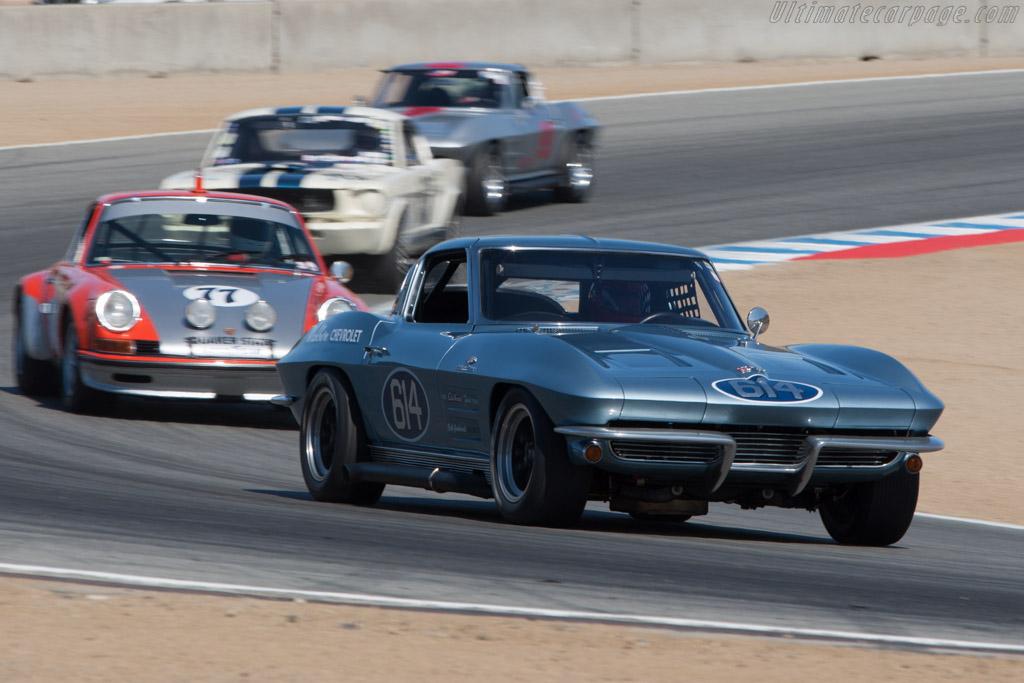 Chevrolet Corvette Z06 - Chassis: 30837500003 - Driver: Vic Edelbrock  - 2013 Monterey Motorsports Reunion