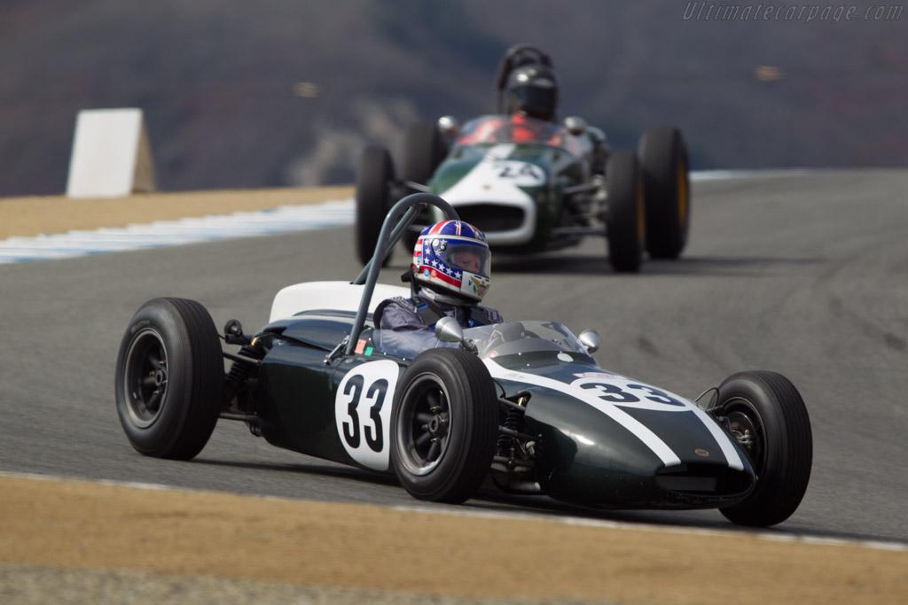 Cooper T56 - Chassis: FJ/26/61 - Driver: Doug Mocket  - 2013 Monterey Motorsports Reunion
