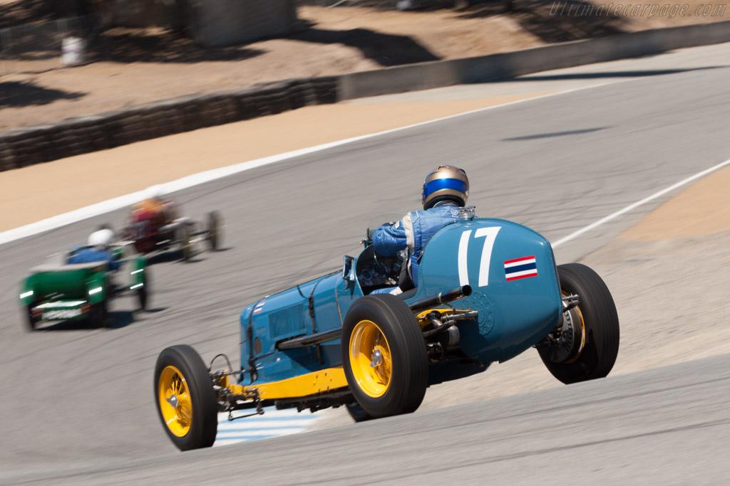 ERA B-Type - Chassis: R2B - Driver: Greg Whitten  - 2013 Monterey Motorsports Reunion