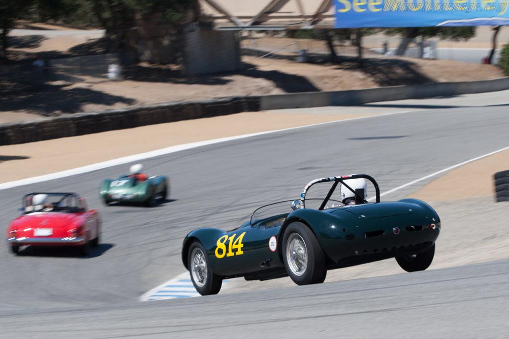 Elva Mk 1 - Chassis: REB-338-ECC - Driver: Dennis Adair  - 2013 Monterey Motorsports Reunion