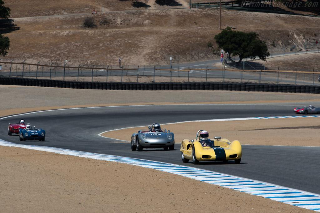 Elva Mk 6 - Chassis: 60-14 - Driver: Ken Palmer  - 2013 Monterey Motorsports Reunion