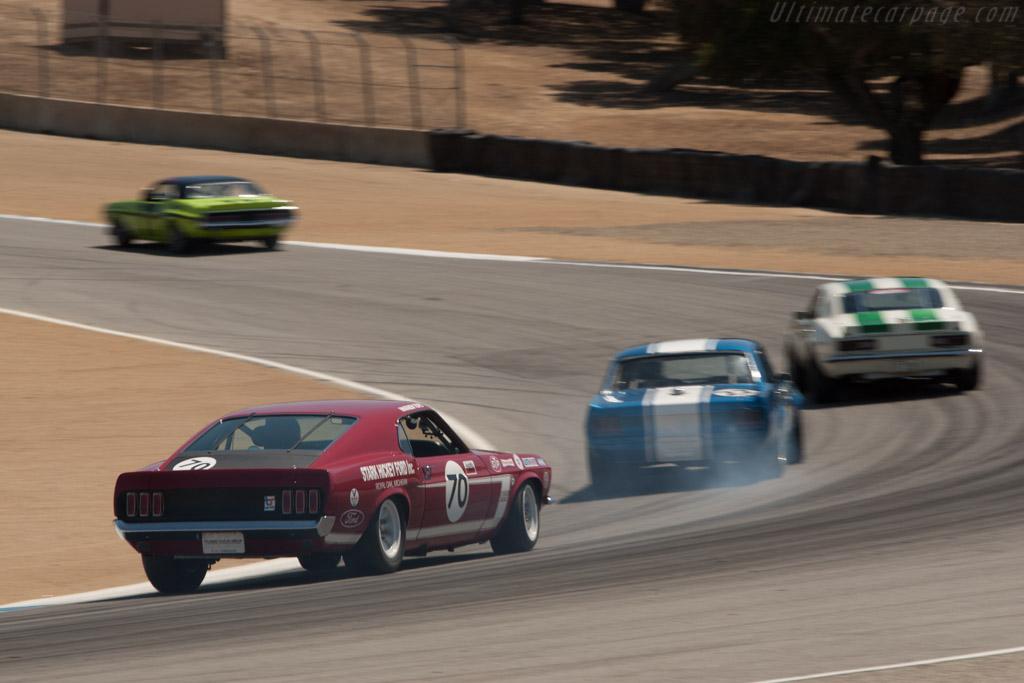 Ford Mustang BOSS 302    - 2013 Monterey Motorsports Reunion