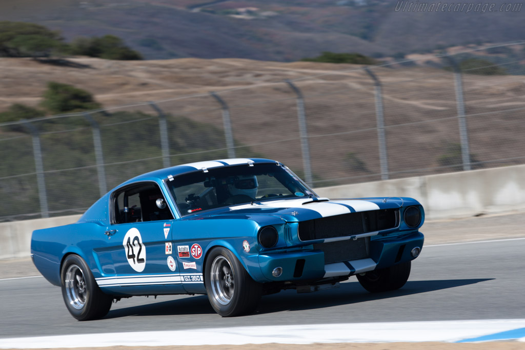 Ford Shelby Mustang GT350  - Driver: Bob Paris  - 2013 Monterey Motorsports Reunion