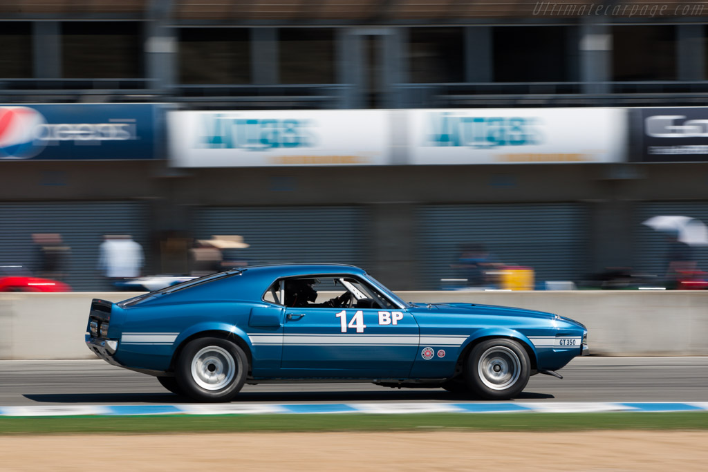 Ford Shelby Mustang GT350  - Driver: Drew Alcazar  - 2013 Monterey Motorsports Reunion