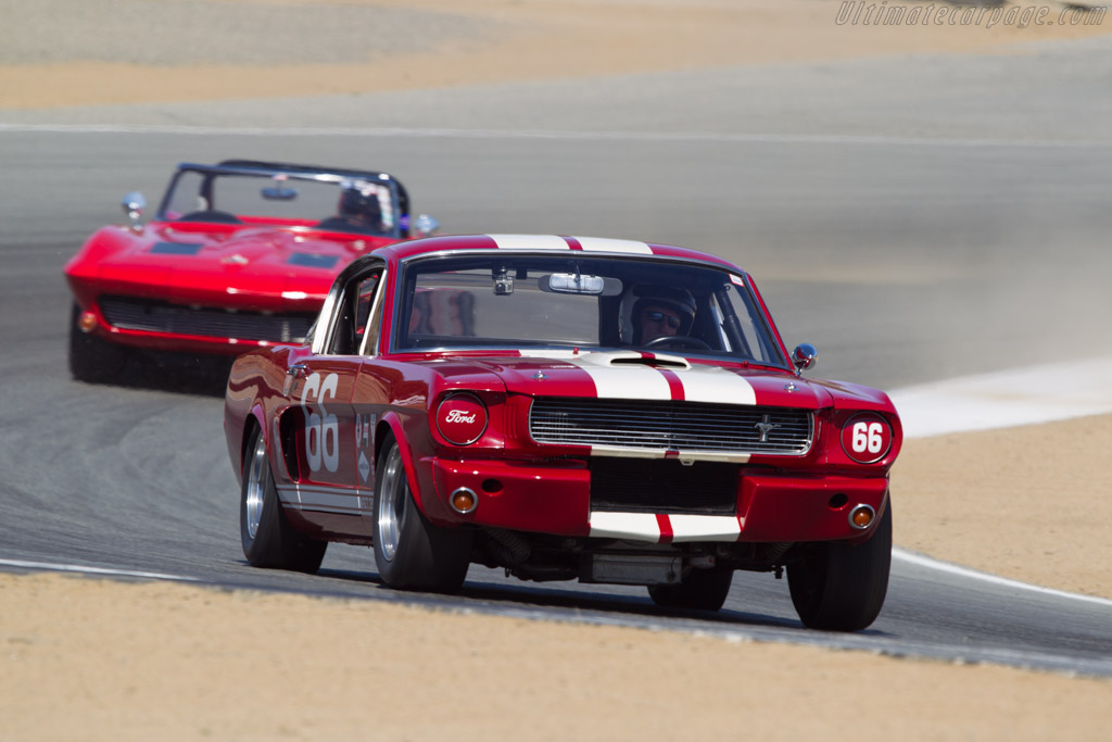 Ford Shelby Mustang GT350 - Chassis: SFM6S1514 - Driver: Mark Cane  - 2013 Monterey Motorsports Reunion