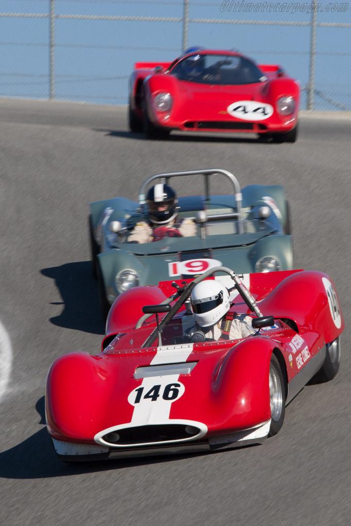 Genie Mk VIII - Chassis: 1 - Driver: John Harden  - 2013 Monterey Motorsports Reunion