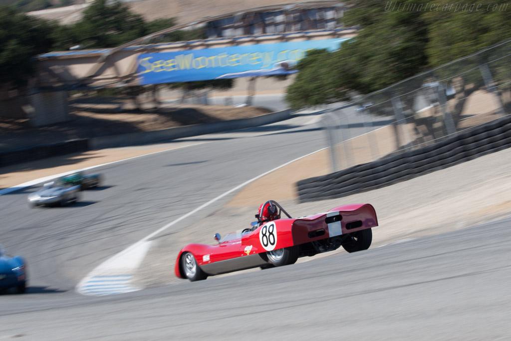 Huffaker Genie Mk V  - Driver: Michael Vogel  - 2013 Monterey Motorsports Reunion