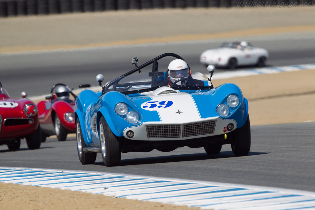 Kellison J-5 - Chassis: 59-00014 - Driver: David Neidell  - 2013 Monterey Motorsports Reunion