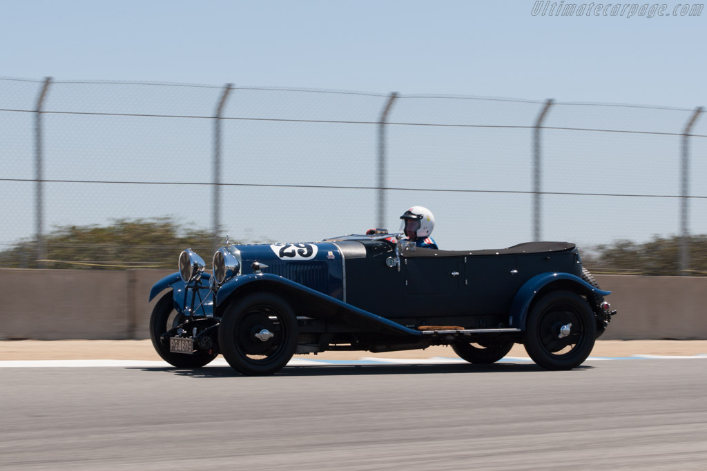 Lagonda 2-Litre Speed - Chassis: 9517 - Driver: Graham Wallis  - 2013 Monterey Motorsports Reunion