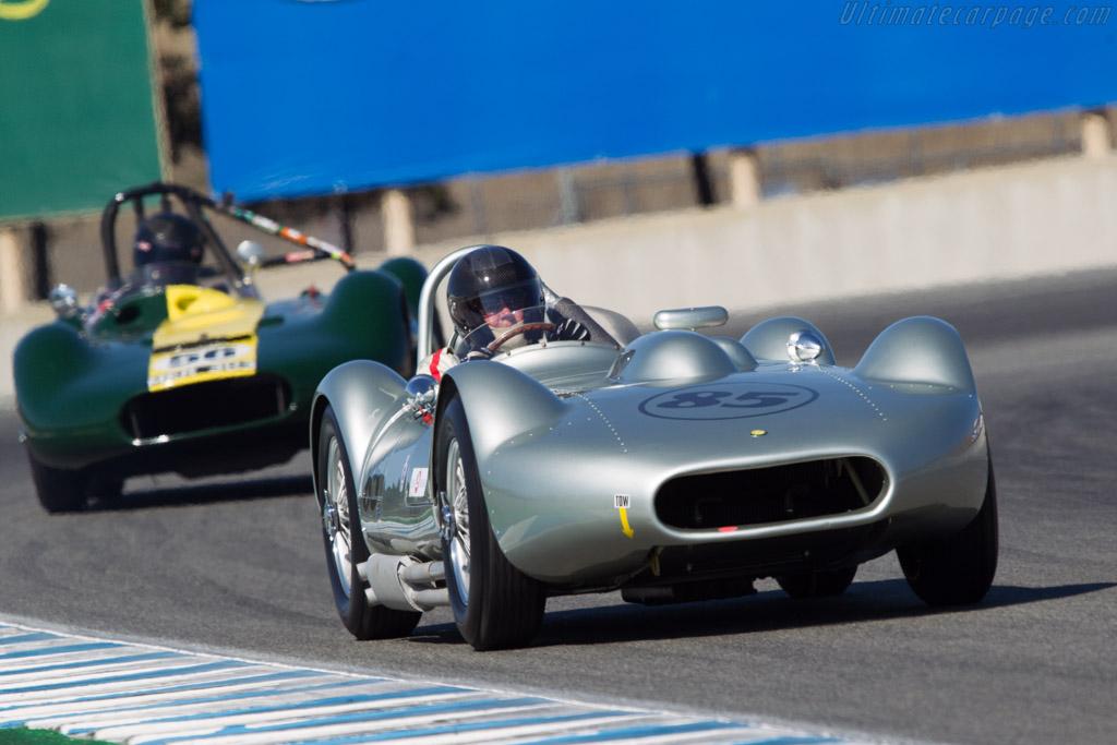 Lister Bristol - Chassis: 009 - Driver: Stephen Blond  - 2013 Monterey Motorsports Reunion