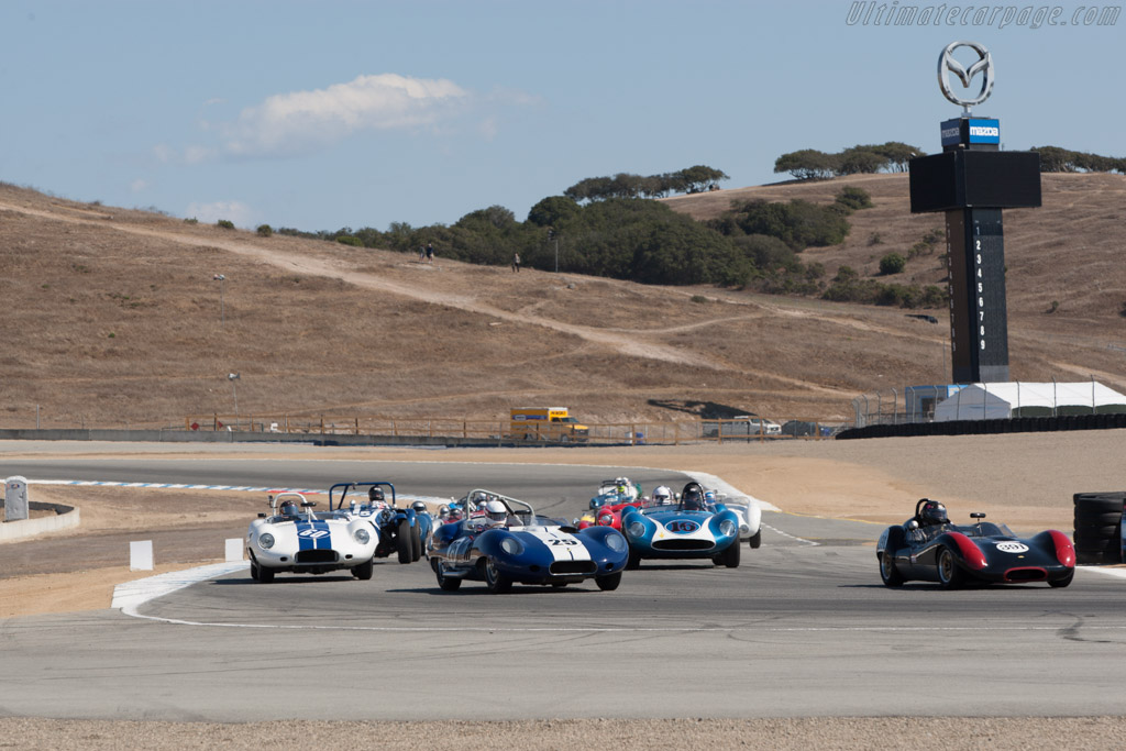 Lister Costin Chevrolet - Chassis: BHL 132 - Driver: Erickson Shirley  - 2013 Monterey Motorsports Reunion