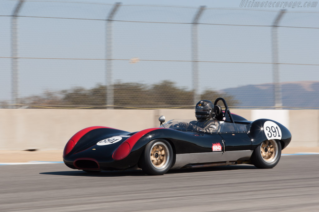 Lola Mk1 Climax - Chassis: BR101 - Driver: Herbert Wetanson  - 2013 Monterey Motorsports Reunion