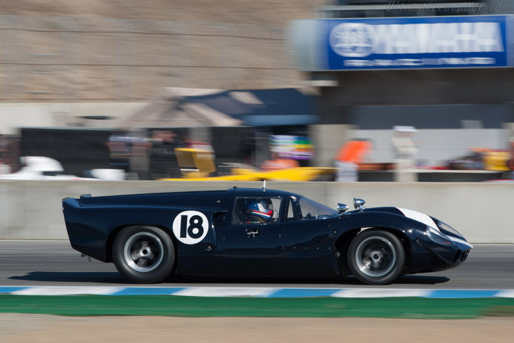 Lola T70 Mk3 Coupe Aston Martin - Chassis: SL73/121A - Driver: James Freeman  - 2013 Monterey Motorsports Reunion