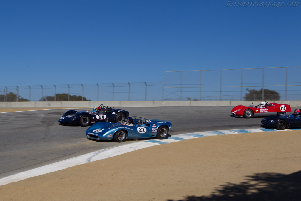 Lola T70 Mk3 Spyder - Chassis: SL73/127 - Driver: Nick Colonna  - 2013 Monterey Motorsports Reunion