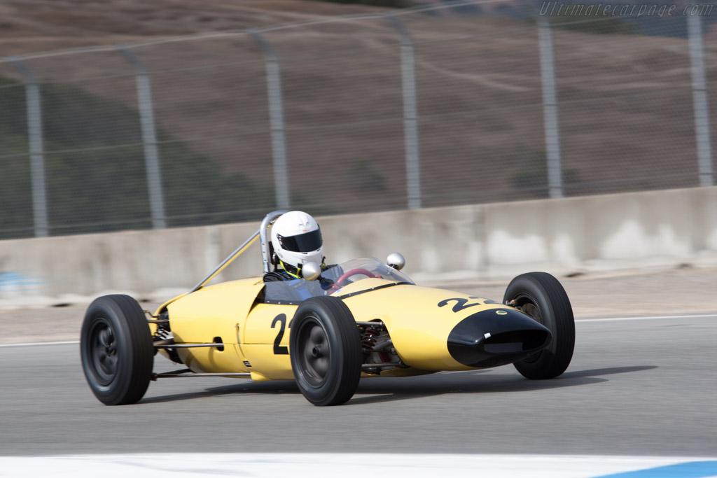 Lotus 22 - Chassis: 22/J/37 - Driver: Robert Stoker - 2013 Monterey Motorsports Reunion