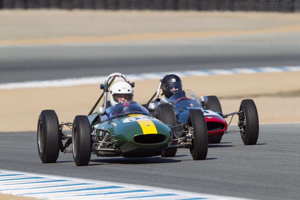 Lotus 22 - Chassis: 22/F3/40 - Driver: Philip Trenholme - 2013 Monterey Motorsports Reunion