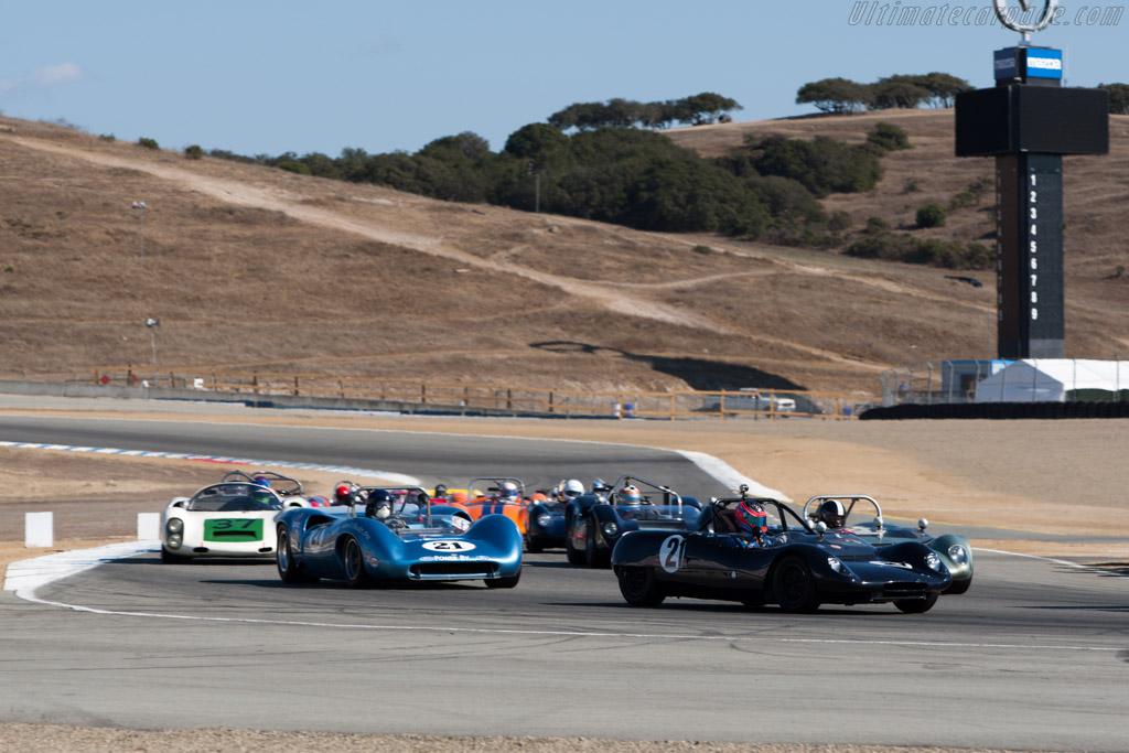 Lotus 23B    - 2013 Monterey Motorsports Reunion