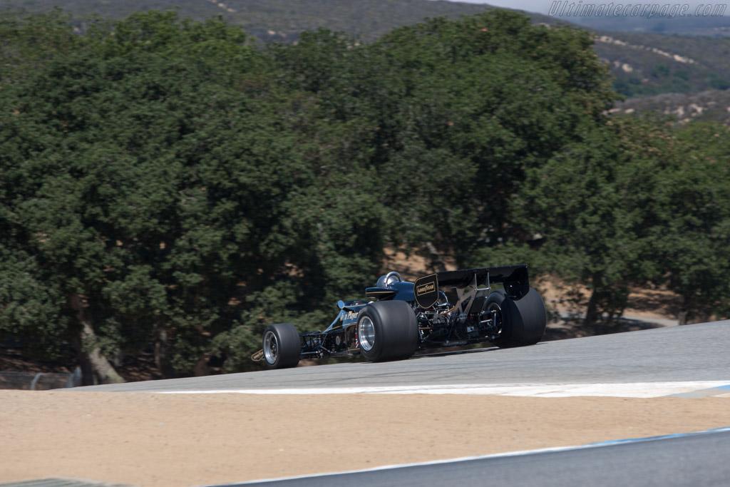 Lotus 77 - Chassis: JPS14 - Driver: Chris Locke  - 2013 Monterey Motorsports Reunion