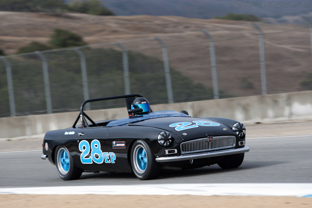 MG B - Chassis: GHN3L030732 - Driver: Tom Tuttle  - 2013 Monterey Motorsports Reunion