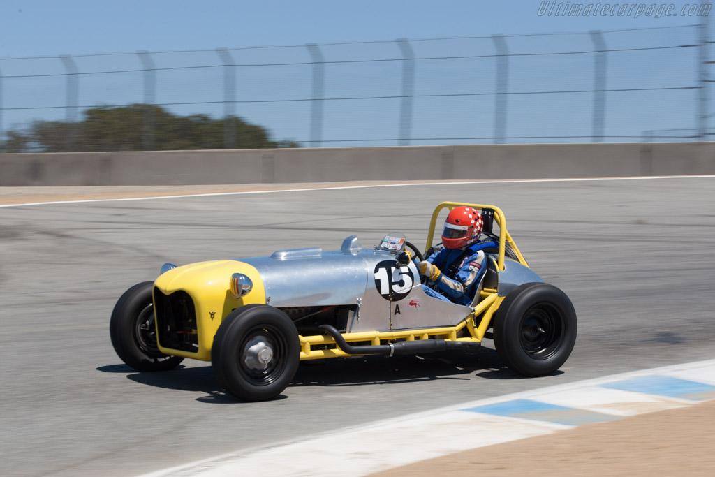Manning Mercury Special - Chassis: SMI - Driver: David Zurlinden  - 2013 Monterey Motorsports Reunion