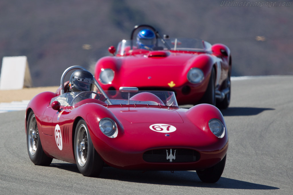 Maserati 200SI - Chassis: 2425 - Driver: Ned Spieker  - 2013 Monterey Motorsports Reunion