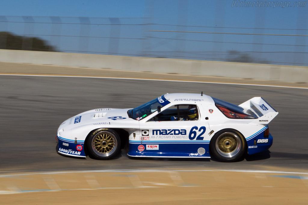 Mazda RX-7 GTO - Chassis: GTO 001 - Entrant / Driver Jeremy Barnes  - 2013 Monterey Motorsports Reunion