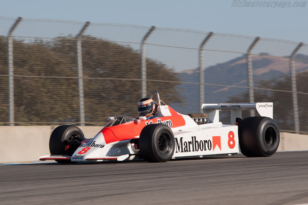 McLaren M30 Cosworth - Chassis: M30-1 - Driver: Sean Allen  - 2013 Monterey Motorsports Reunion