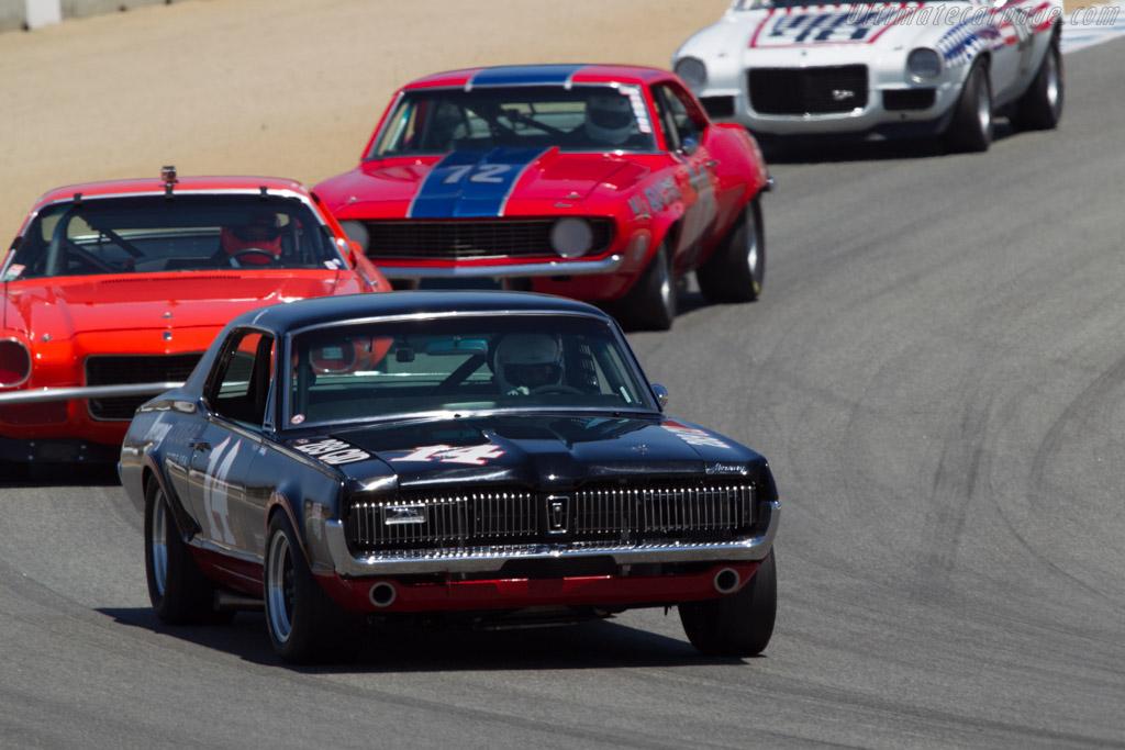 Mercury Cougar - Chassis: 7F91C5975XX - Driver: Ike Keeler  - 2013 Monterey Motorsports Reunion