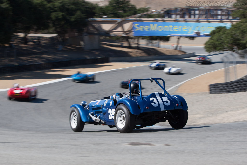 Monsterati Special - Chassis: T57626 - Driver: Howard Swig  - 2013 Monterey Motorsports Reunion