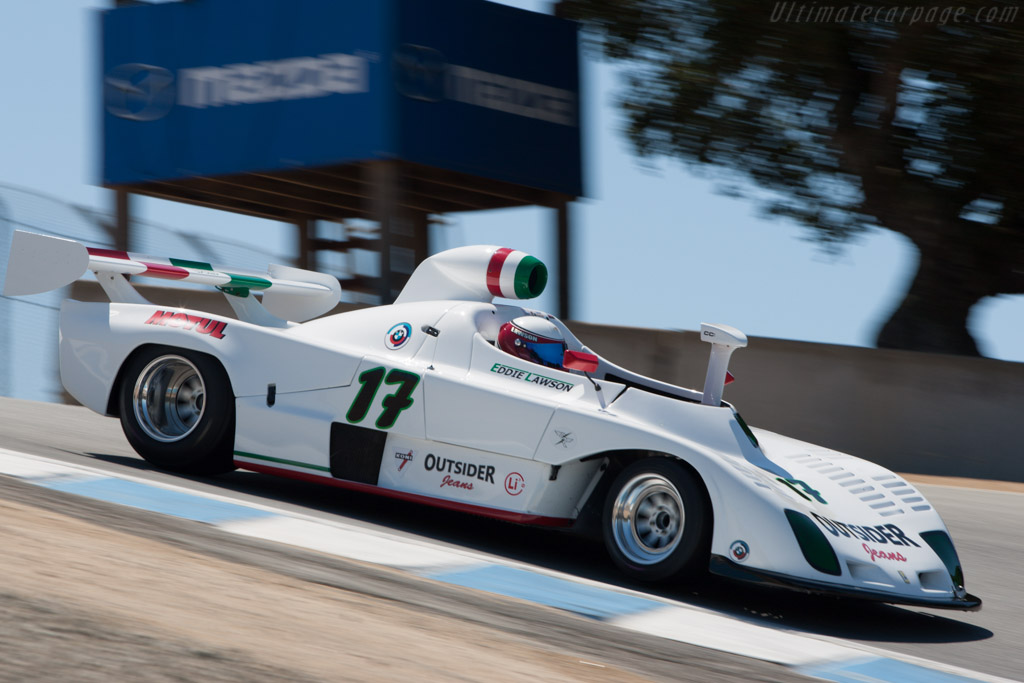 Osella PA3/5 - Chassis: 032 - Driver: Eddie Lawson  - 2013 Monterey Motorsports Reunion