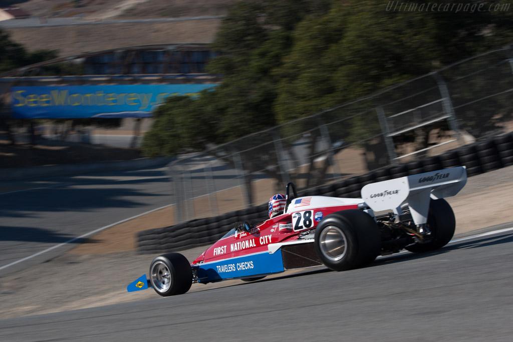 Penske PC4 - Chassis: PC4/001 - Driver: Doug Mocket  - 2013 Monterey Motorsports Reunion