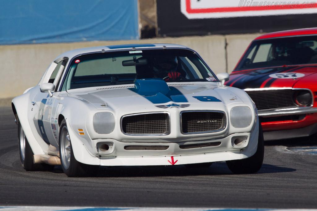 Pontiac Firebird  - Driver: William 'Chip' Connor  - 2013 Monterey Motorsports Reunion