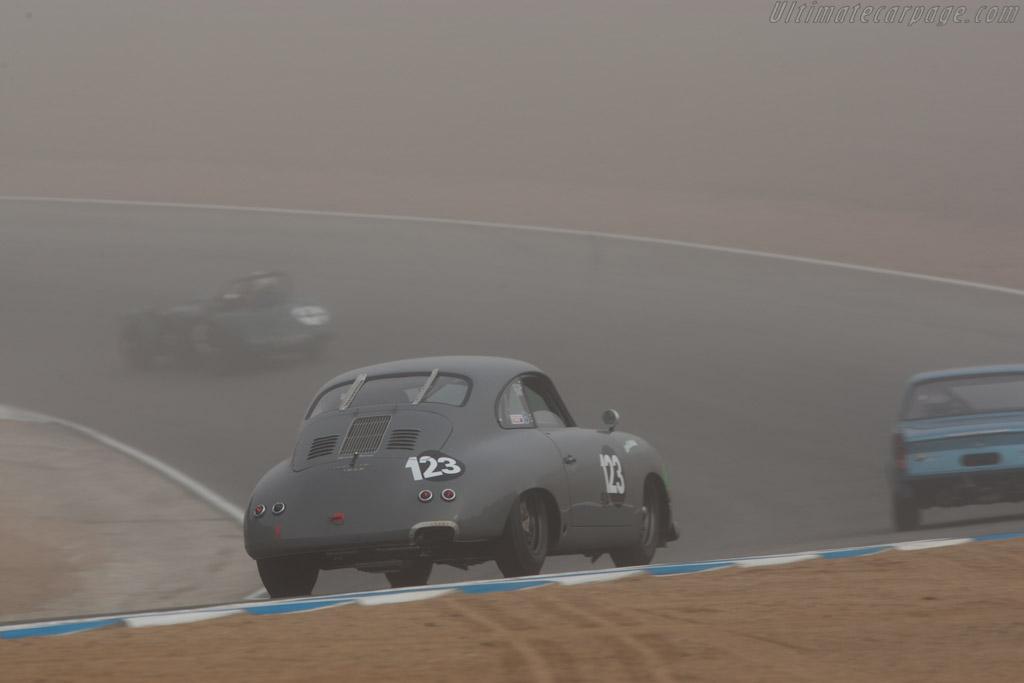Porsche 356  - Driver: Ron Goodman  - 2013 Monterey Motorsports Reunion