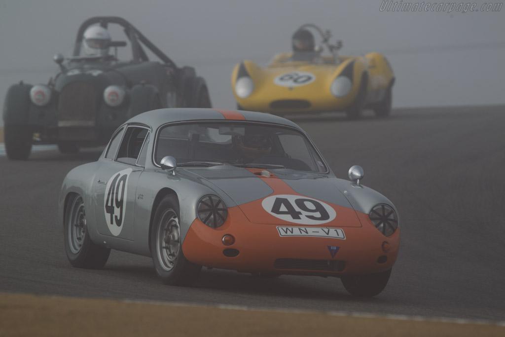 Porsche 356 GTL Abarth - Chassis: 1016 - Driver: Ranson Webster  - 2013 Monterey Motorsports Reunion